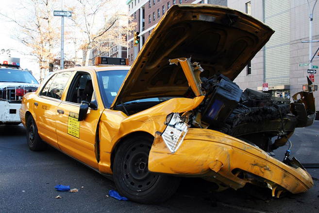 New York taxi crash – German couple sues.