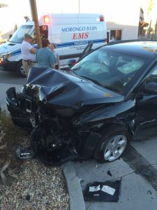 German Student's Car accident in California