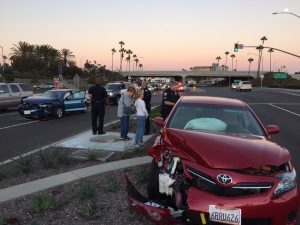 German Businessman's Car accident in California – Lawsuit leads to early resolution of case.